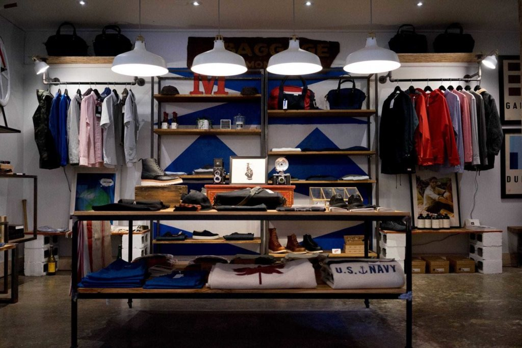 Brand awareness study of clothing stores