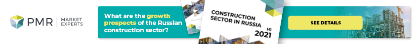 Baner long - Construction sector in Russia H1 2021